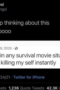Survival movie situation